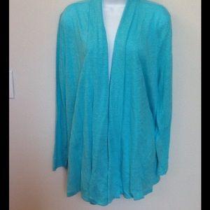J.Jill ladies cardigan sweater size L  NWT